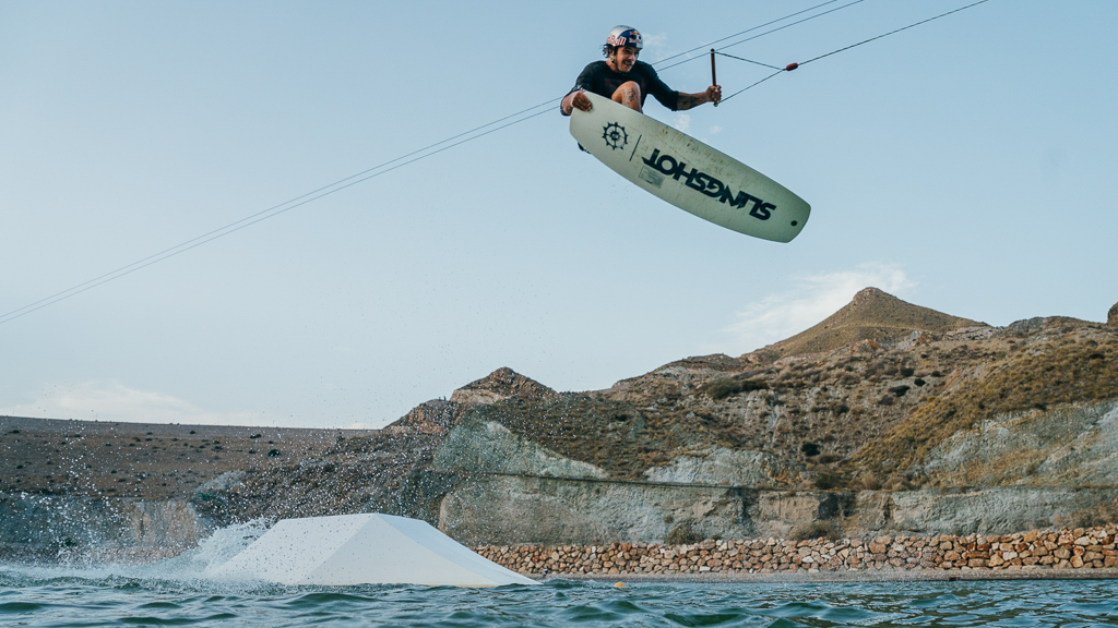 Jules Charraud - Cablepark Lunar - pic by Sam Strauss