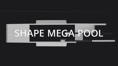SHAPE mega Pool