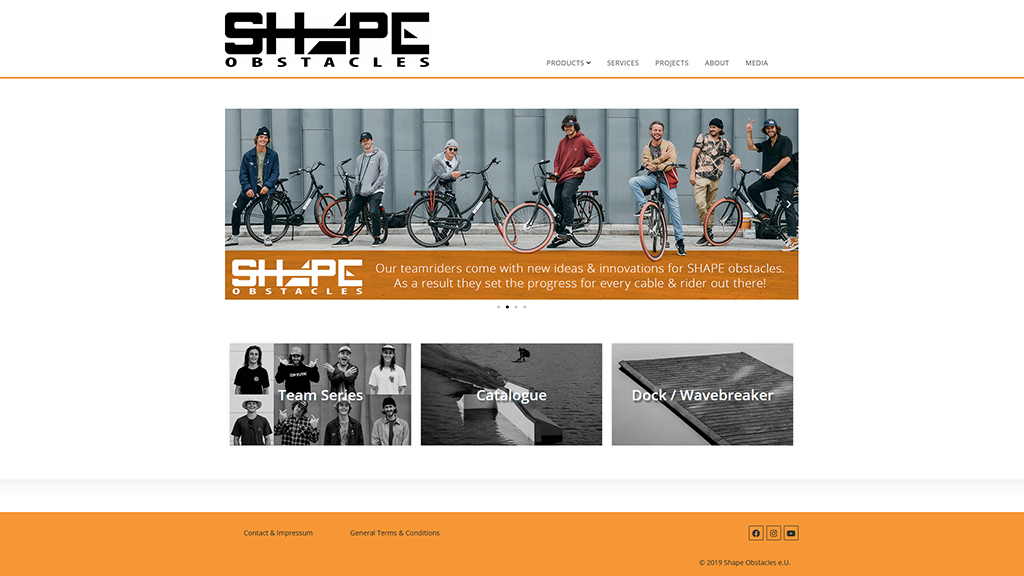 New Shape for our Homepage